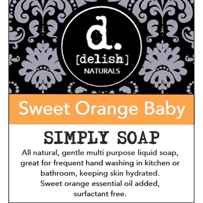 "<font size=""3""><b>Simply Soap ""Sweet Orange Baby""</font></b>"