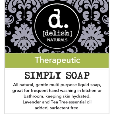 "<font size=""3""><b>Simply Soap ""Therapeutic""</font></b>"