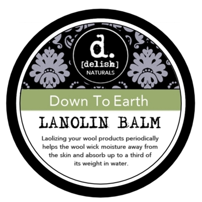 "<font size=""3""><b>100% Pure Lanolin Balm -Down to Earth</b></font>"