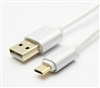10 ft Premium USB to Micro charging and data cable   Pure Copper core