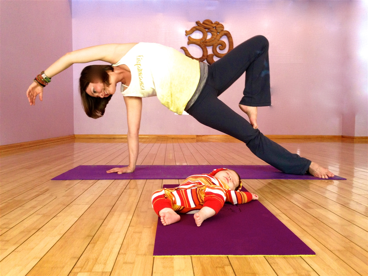 Baby Yoga Mat By Bendi Baby