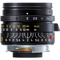 Leica Summicron-M 28mm f/2.0 Lens (6-Bit, Manual Focus)