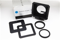 Very Clean Hasselblad Pro Shade 40231 With Two Masks & Adapter, Boxed #13344