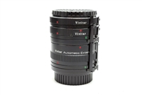 Vivitar AT-5 Extension Tube Set 12mm 20mm 36mm for Minolta MD/MC/SR 15183