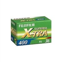 Fujifilm Fujicolor Superia X-TRA 400 Color Negative Film (35mm Roll Film, 36 Exposures)