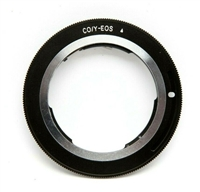 Very Clean Contax/Yashica to EOS Adapter #16245