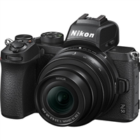Nikon Z 50 Mirrorless Digital Camera with 16-50mm Lens W/FTZ Adapter