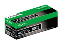 FUJIFILM Neopan 100 Acros Black and White Negative Film (120 Roll Film)