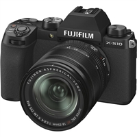 FUJIFILM X-S10 Mirrorless Digital Camera with 18-55mm Lens