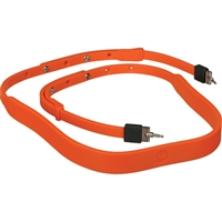 Leica Neck Strap, Silicon (Orange)