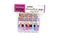 Brand New FUJIFILM Instax Decorative Pegs #23508