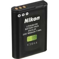 Nikon EN-EL23 Rechargeable Lithium-Ion Battery (3.8V, 1850mAh)