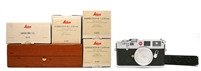 Rare Leica M6 LHSA 25th Anniversary Camera Set w/ 35mm, 50mm, 90mm Lens 27529 (SOLD)