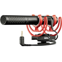New Rode VideoMic NTG Hybrid Analog/USB Camera-Mount Shotgun Microphone #30820