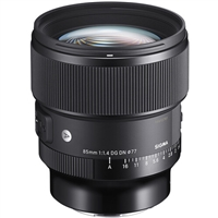 Sigma 85mm f/1.4 DG HSM Art Lens for Sony E
