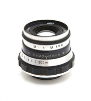 Excellent Fed 52mm f2.8 L39 Screw Mount Lens #32725