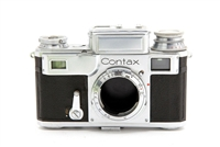Contax III 35mm Rangefinder Camera in AS-IS Condition #32739