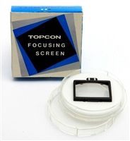 Excellent Topcon Focus Screen No. 6 with Box #32745