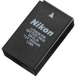 Nikon EN-EL20 Rechargeable Li-ion Battery (1020mAh)