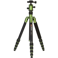 MeFOTO RoadTrip Aluminum Travel Tripod Kit (Green) 6082