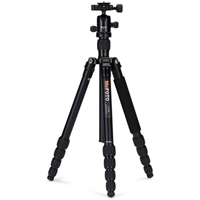 MeFOTO RoadTrip Aluminum Travel Tripod Kit (Black)