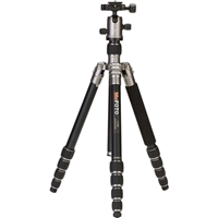 MeFOTO RoadTrip Aluminum Travel Tripod Kit (Titanium)