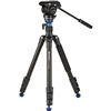 Benro A2883F Reverse-Folding Aluminum Travel Tripod with S4Pro Fluid Video Head