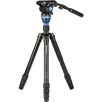 Benro A3883 Reverse-Folding Aluminum Travel Tripod with S6Pro Fluid Video Head