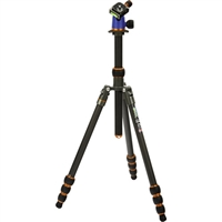 3 Legged Thing Punks Series Billy Carbon Fiber Tripod with AirHed Neo Ball Head (Olive Green)