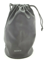 Excellent Sony Lens Pouch (Approx 4.5 Diameter x 8 in Tall) #C1024
