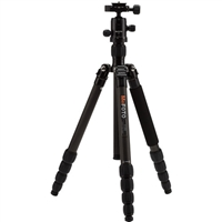 MeFOTO RoadTrip Carbonfiber Travel Tripod Kit (Black)
