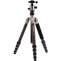 MeFOTO GlobeTrotter Carbon Fiber Travel Tripod Kit (Titanium)
