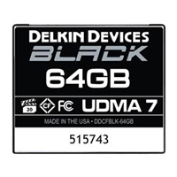 Delkin Black 64GB Compact Flash