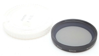 Excellent Nikon 52mm Polarizer Filter With Case #F1037