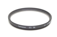 Excellent Heliopan ES 58mm UV -0 Filter #F1089