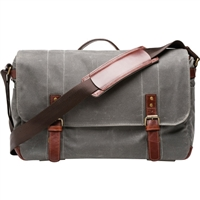 ONA Union Street Messenger Bag (Smoke)(19167)