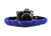 Organza Rose Camera Strap Purple 14136