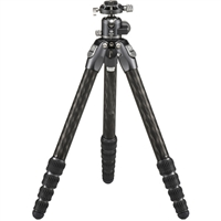 Benro Tortoise Columnless Carbon Fiber Three Series Tripod with GX35 Ball Head