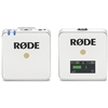 Rode Wireless GO Compact Digital Wireless Microphone System (2.4 GHz, White)