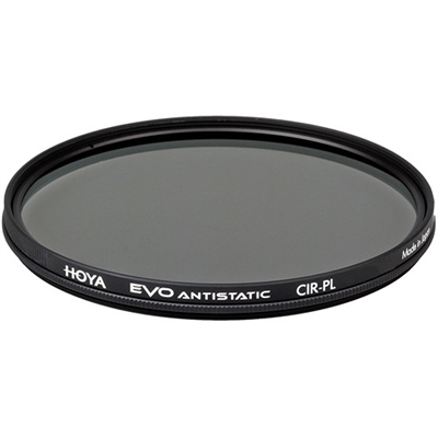 Hoya 77mm EVO Antistatic Circular Polarizer Filter