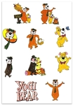 YOGI BEAR EMBROIDERY DESIGNS - SET OF 10 CARTOON COLLECTION 4X4