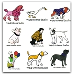 BABE Machine Embroidery Designs - Set of 25