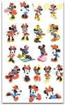 MINNIE MOUSE DISNEY EMBROIDERY DESIGNS - SET OF 20