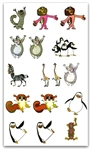 MADAGASCAR EMBROIDERY DESIGNS - 20+ CARTOON COLLECTION