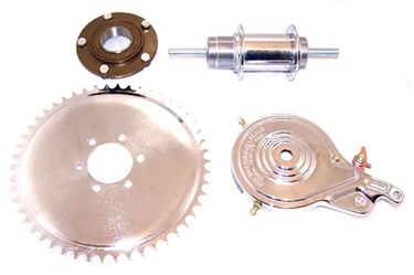 Grubee HD Axle Kit with Solid Hub For 2 Stroke Motor