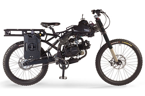 Motoped Survival 4 Stroke Bicycle