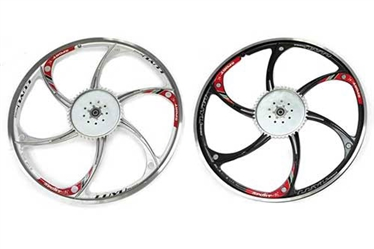 "26"" Mag Aluminum Wheels with 44T Sprocket"