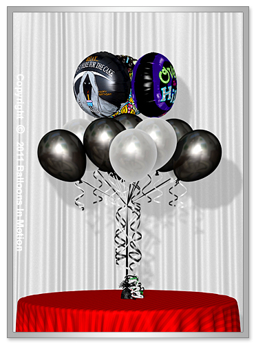 <b>Over The Hill  Balloon Bouquet</b> #6 - (13 Latex & 3 Foil)