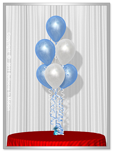 It's A Boy <b>Balloon Bouquet</b> #3  (7 Latex 3-3-1)