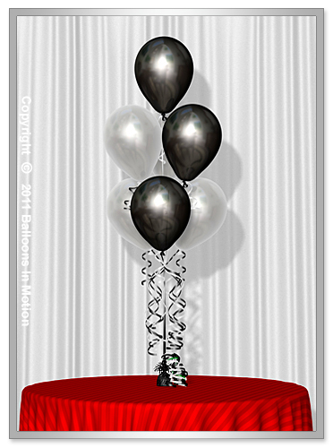 <b>Over The Hill  Balloon Bouquet</b> #1 - (7 Latex Balloons)